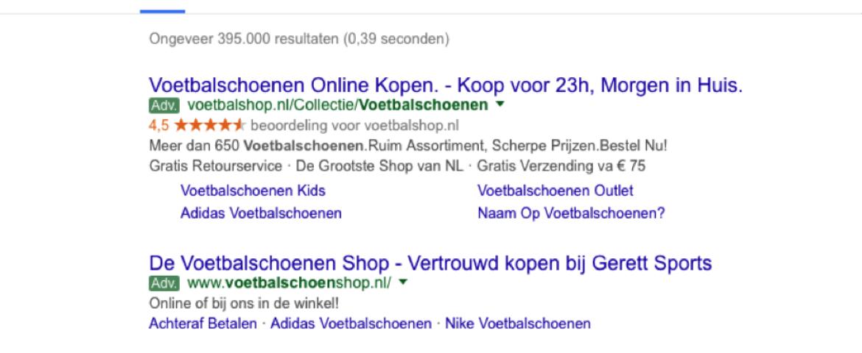 Google vernieuwt Adwords