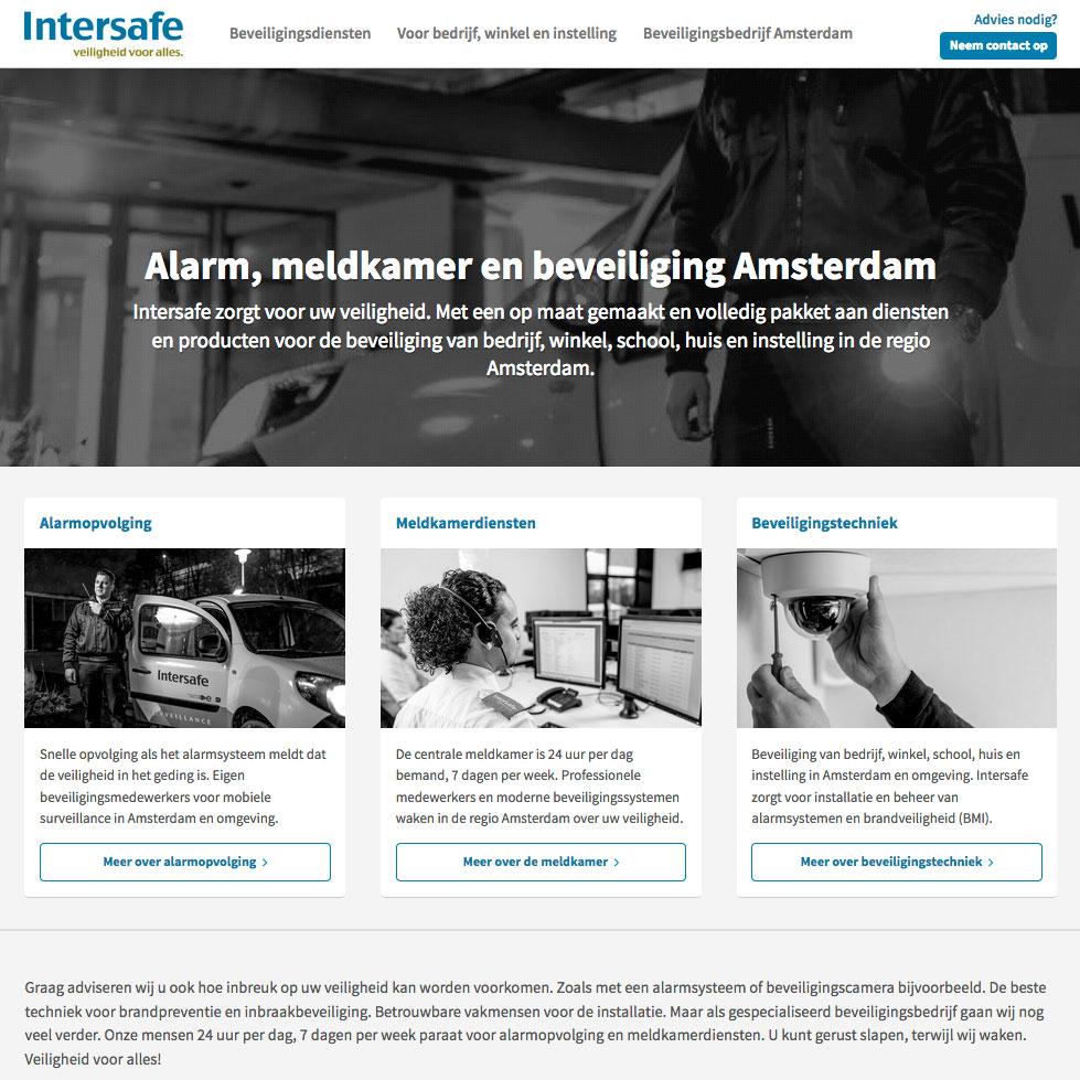 Intersafe Amsterdam beveiliging