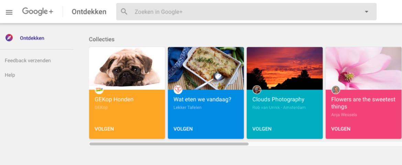 In april houdt Google+ op te bestaan