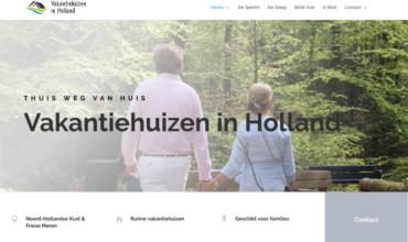 Vakantiehuizen in Holland